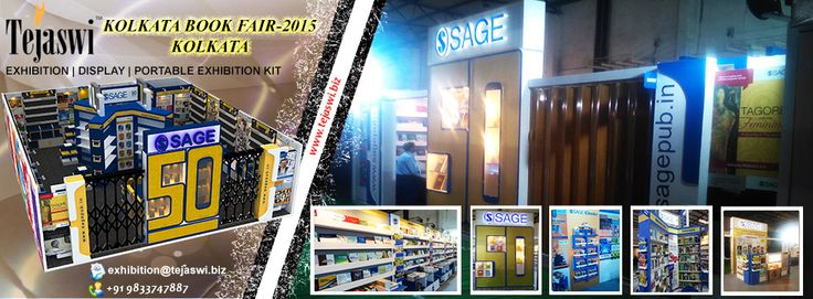 Kolkata Book Fair Exhibition Stall Design and Construction By Tejaswi Services Pvt Ltd