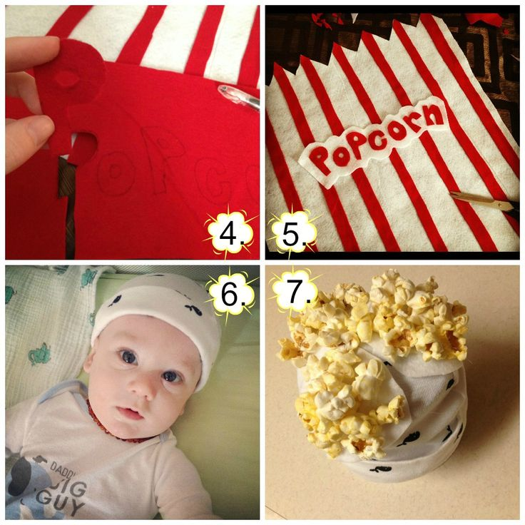 We're all Muggles: Popcorn Baby Costume - DIY