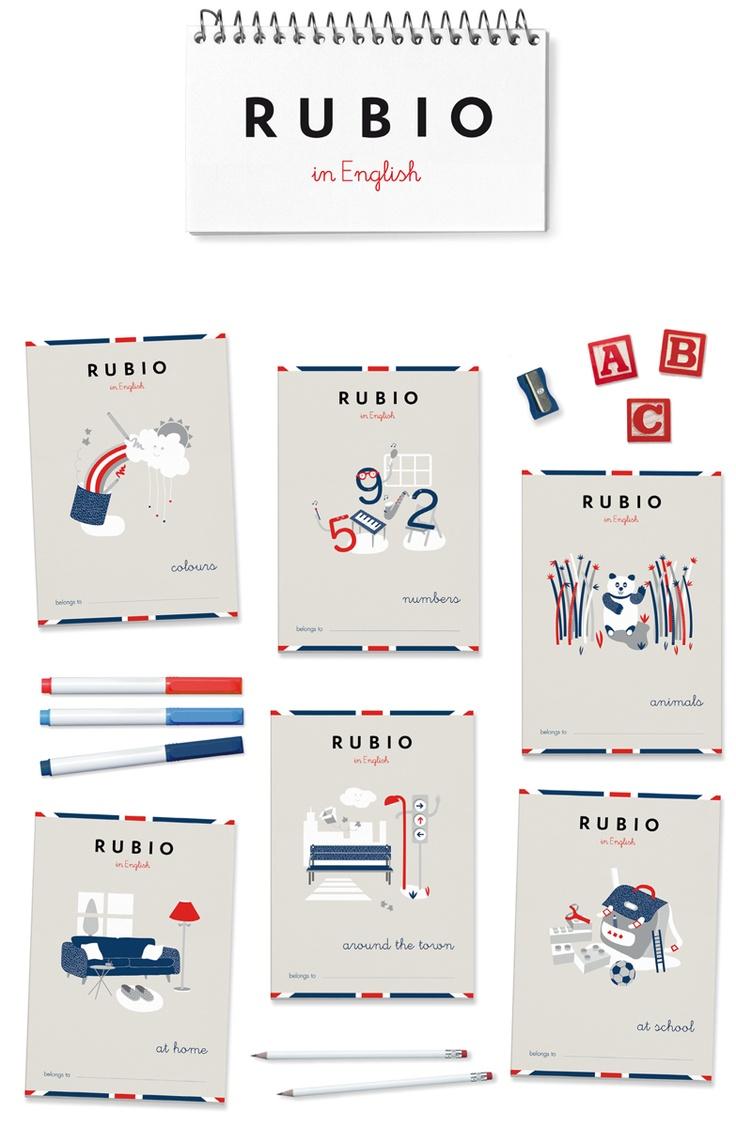 Nuevos Cuadernos Rubio in English