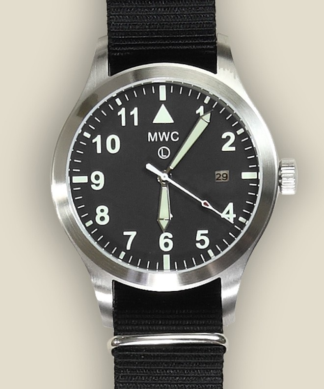 Zoom: Military Watch Company - MK3 Automatic Watch - Silver