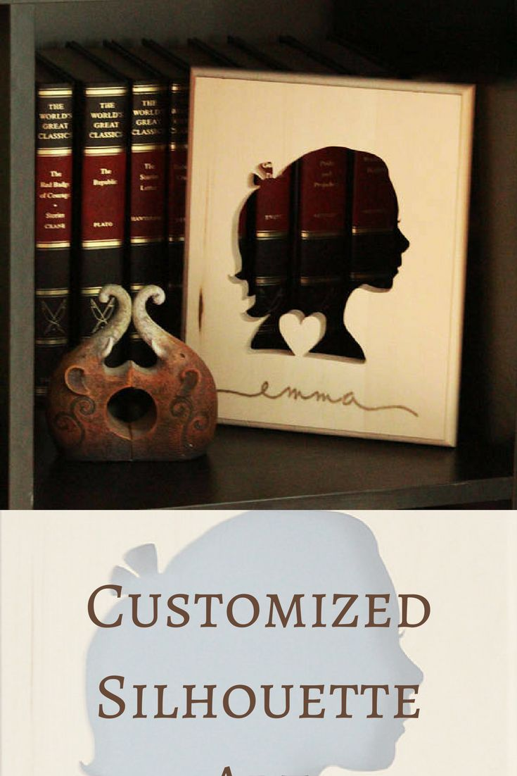 I was   looking for custom silhouette portraits when I came across this wood carving!   This is the perfect traditional nursery décor #ad