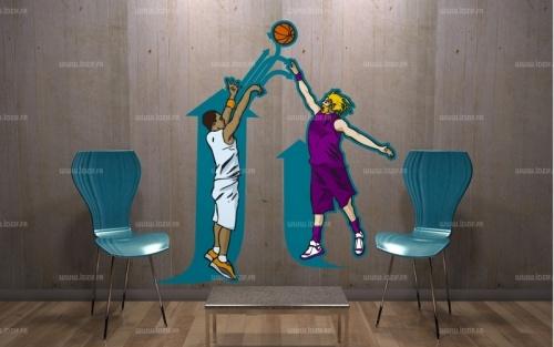 Sticker duel basketteurs  http://www.idzif.com/idzif-deco/stickers-muraux/stickers-destroy/stickers-sport/produit-sticker-duel-basketteurs-1610.html