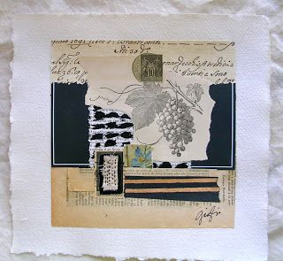 """Dolce Shop: French Paper Series Collages """"The Vineyard"""" by Caterina Giglio"""
