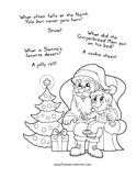 Free Christmas Coloring and Activity Pages Santa's little gift to you! Download these free printable coloring pages and activities for your little ones to enjoy!...