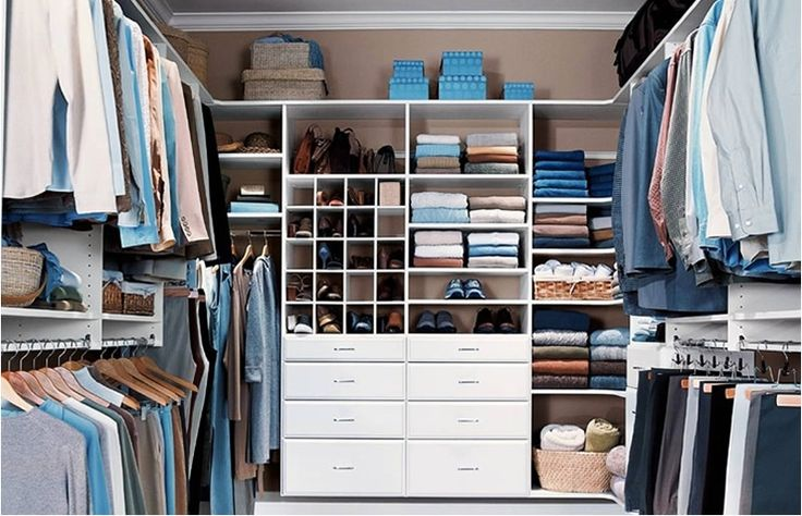 Closet organizer (like this but would need to be scaled down to fit our closet)
