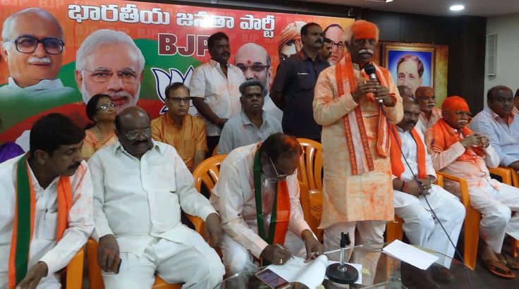 Participated in Victory Celebrations along with Dr K Laxman ji, MLA BJP State President Telangana after results of elections to 5 states at State BJP Office, Hyderabad.