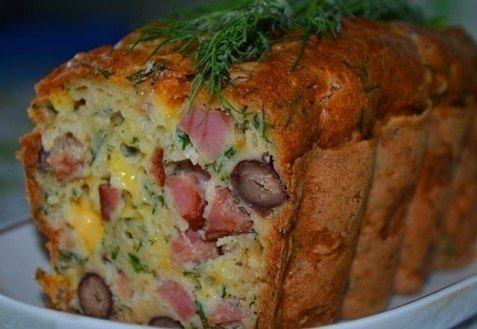 Фото к рецепту: Мясной кекс