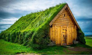 Planet Stars: 10+ Σκανδιναβικά σπίτια με πράσινες στέγες κατευθε...