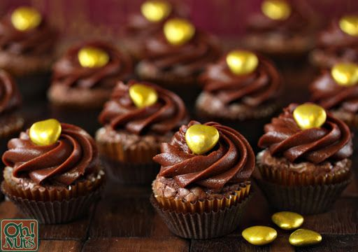Easy Nutella Cupcakes recipe 4 Ingredients Recipe on Yummly