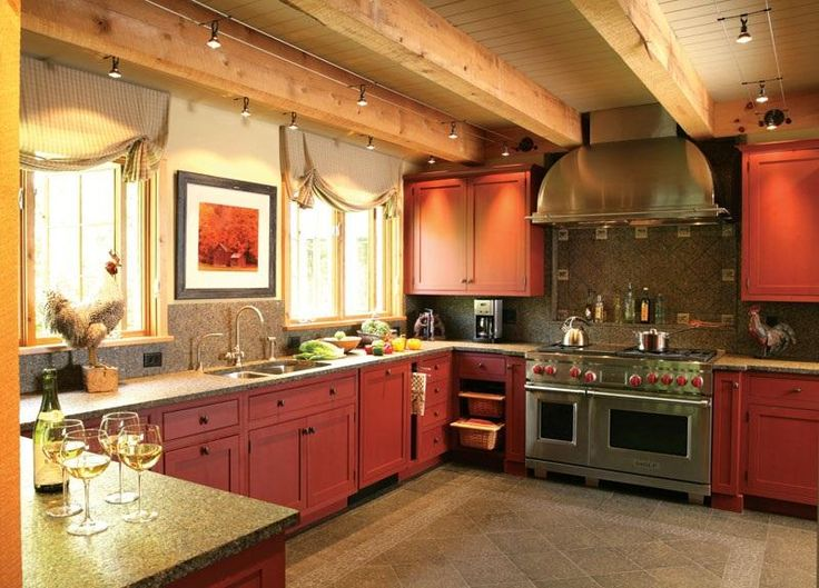 Cozy CountryRustic Kitchen By Wendy Johnson On