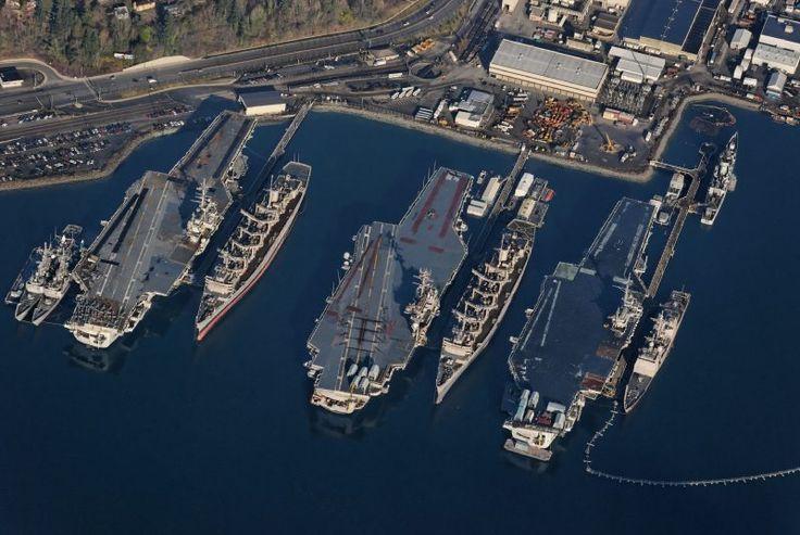 Bremerton Washington Naval Base | Bremerton's Puget Sound Naval Shipyard