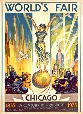 """""""1933 Worlds Fair Chicago"""" by Glen C Sheffer"""