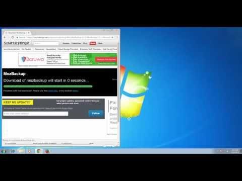 How to Backup and Restore Mozilla Thunderbird - YouTube