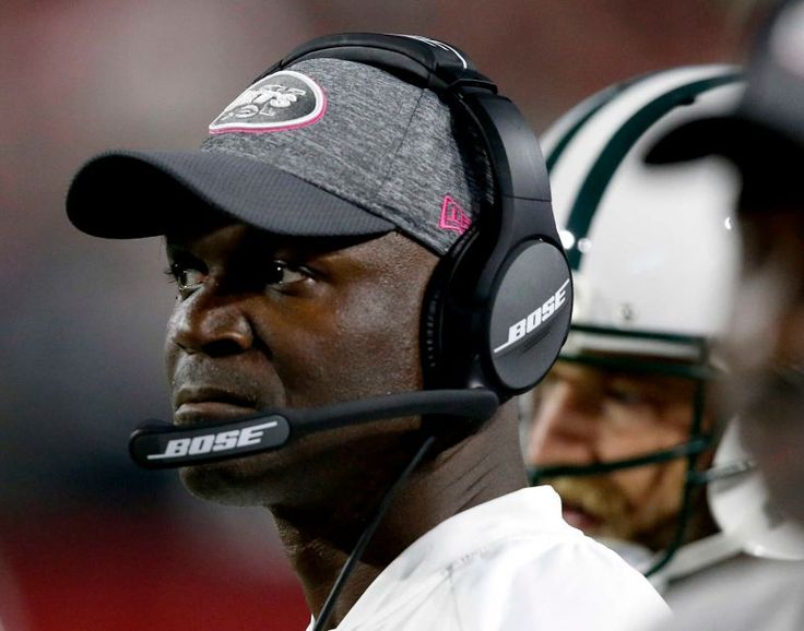 Monday Night Football: Jets vs. Cardinals:     October 17, 2016  -  28-03, Cardinals  -    New York Jets head coach Todd Bowles watches from the sidelines during the second half of an NFL football game against the Arizona Cardinals, Monday, Oct. 17, 2016, in Glendale, Ariz.