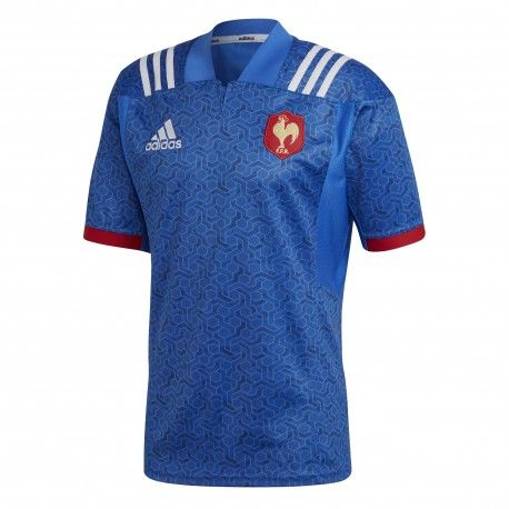 Maillot Rugby France Home Enfant 2018 / adidas