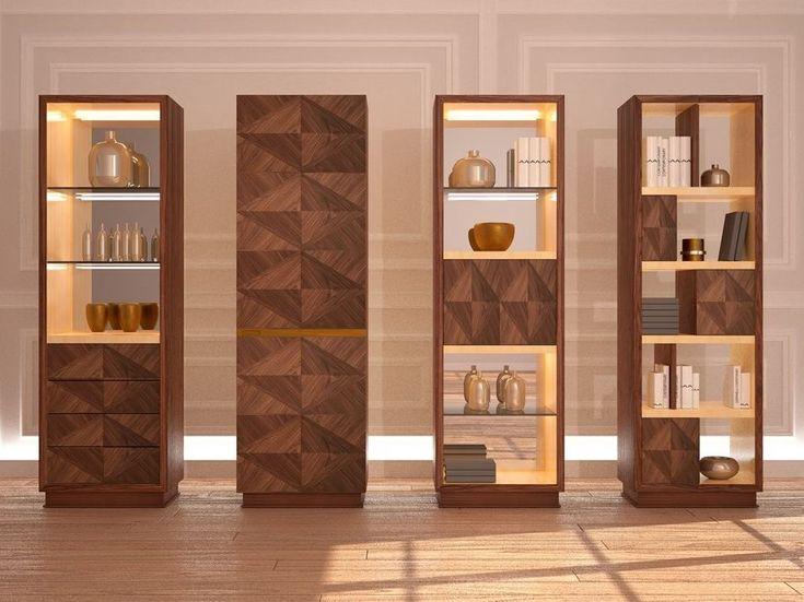 Vitrina de madera Colección Desyo by Carpanelli Contemporary