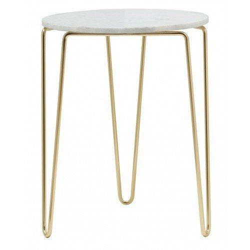 Marble & Brass Table | Flux Boutique