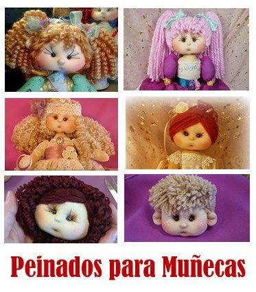 tutorial de peinados para muñecas