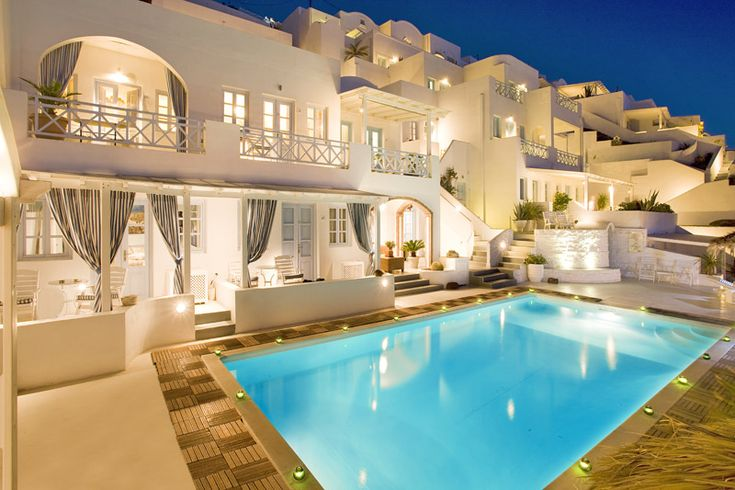 Our Santorini Honeymoon spot- Andromeda Villas