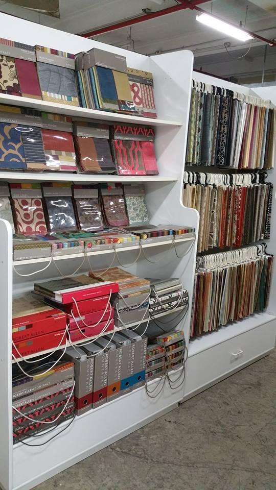 Sample Storage Textiles Shops Showroom Design
