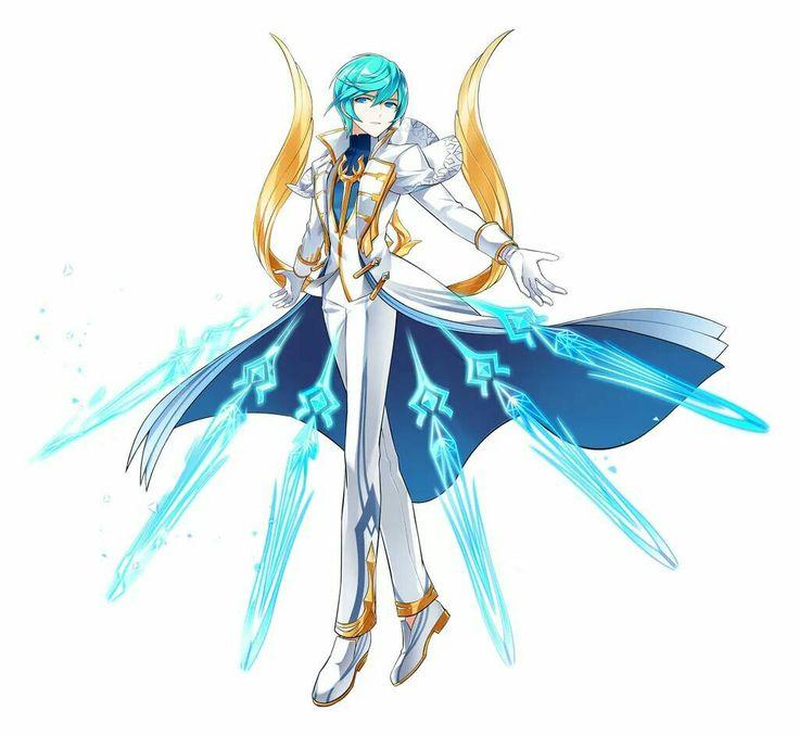 Anime Characters 162 Cm : Best elsword rd job change images on pinterest