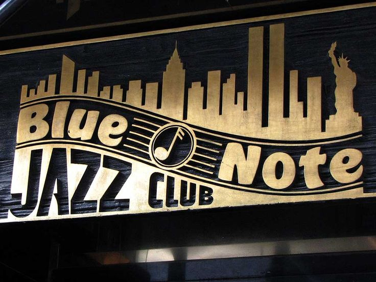 The Blue Note jazz club New York: Who doesn't love to eat while listening to jazz??