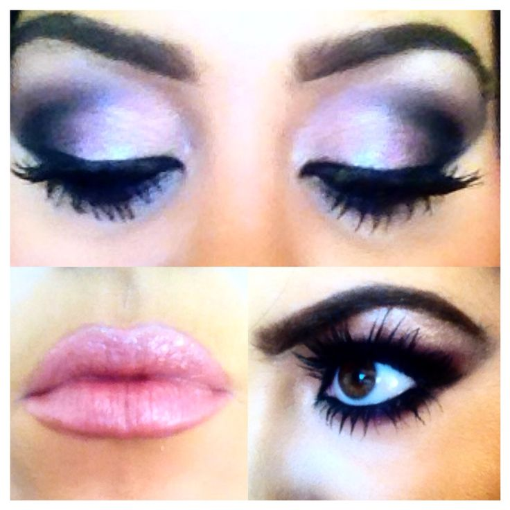 Pinks and purples for brown smokey eyes <3 xXx