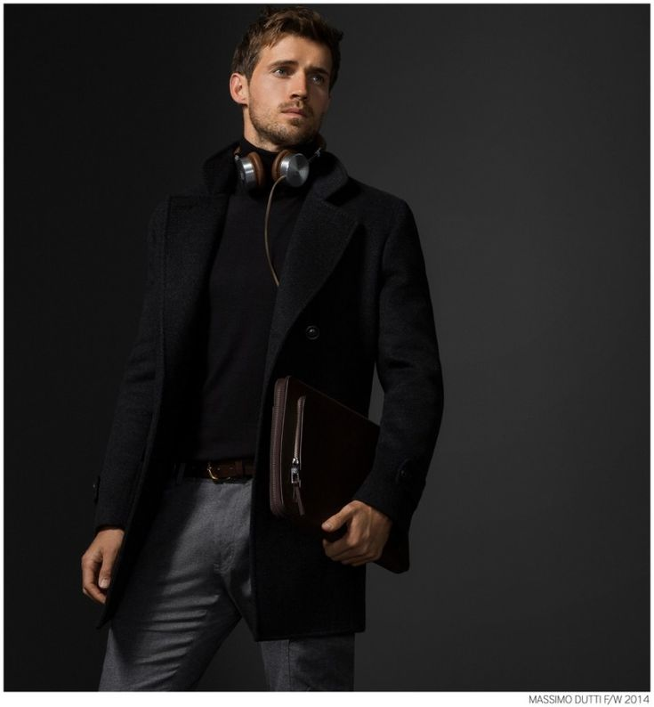 Andrew Cooper Models Limited Edition Styles from Massimo Dutti Fall 2014 5th Avenue Collection image Massimo Dutti Fall Winter 2014 NYC 5th Ave Collection 022 800x864