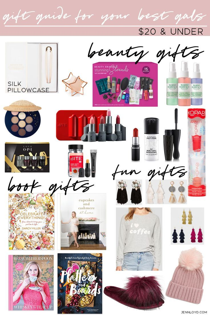 Gift Guide For Your Best Gals Under 20 Christmas Gifts Girls Birthday