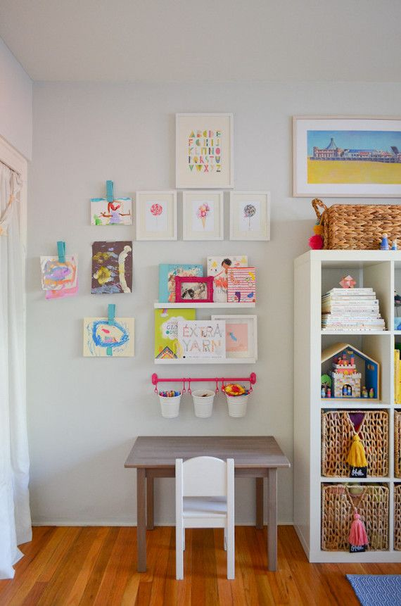 bright creative big girls room - Creative Girls Rooms