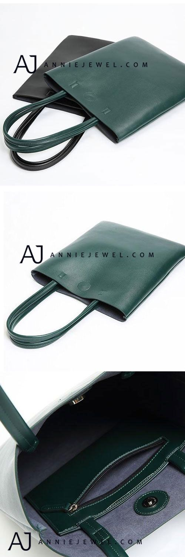 GENUINE LEATHER TOTE HANDMADE HANDBAG CROSSBODY BAG SHOULDER BAG FOR WOMEN