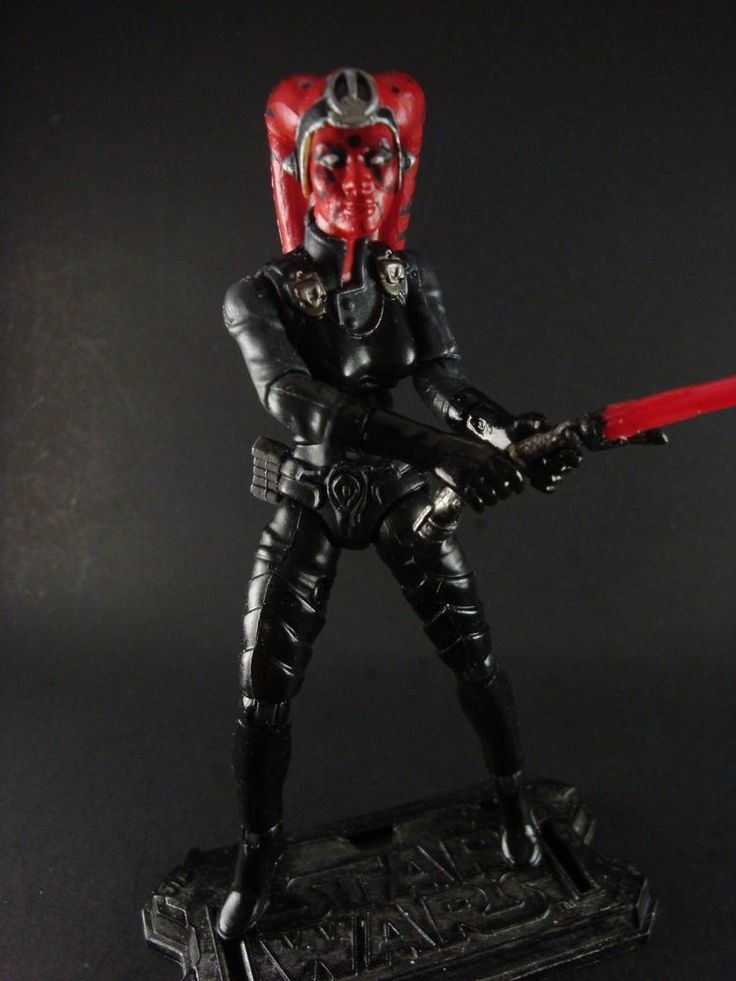 Star Wars Custom Female Sith Lord!! #Hasbro