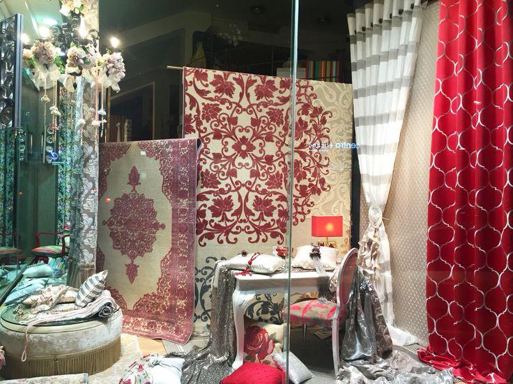 #curtains #shopwindow #carpets #interiordesign #design_for_home #ideas #textiles #stripes #ornaments #accessories #cushions #pillows #decorative #decoration