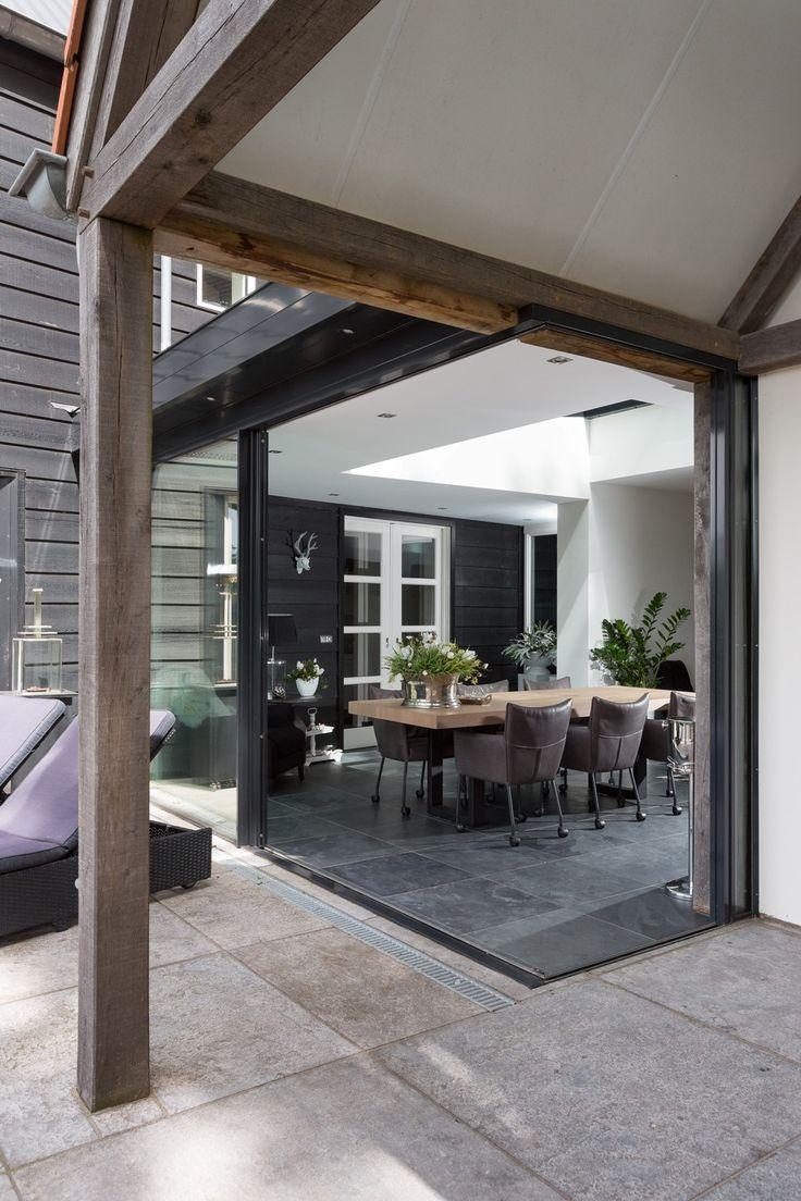 moderne serre met minimal windows, serre met lichtstraat busscher