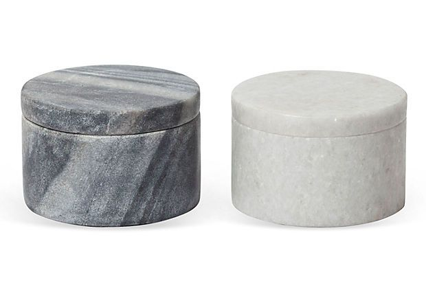 Marble Salt Pepper Bowls Salts Marbles And Bowls