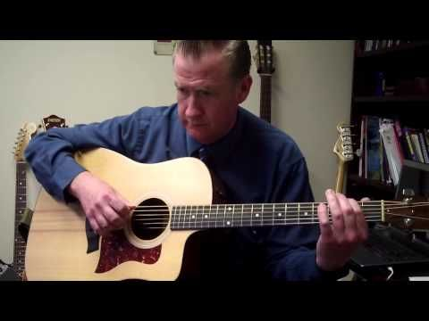 Walking the Blues in Open D Tuning - YouTube