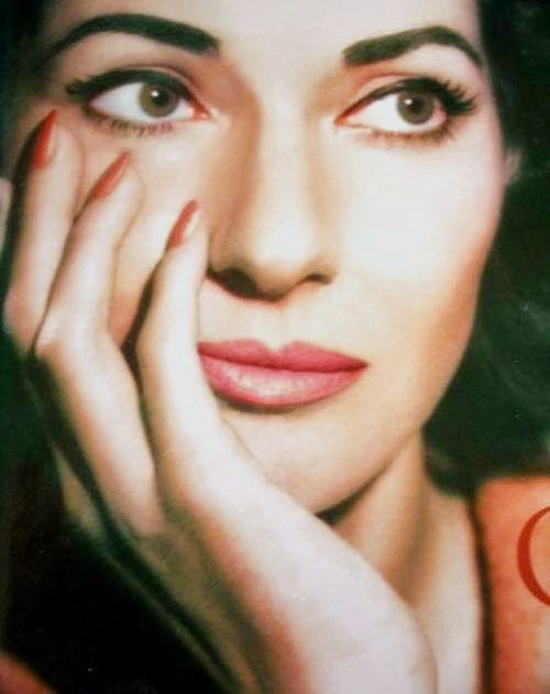 Maria Callas: I just love all she lend her wondrous voice to.