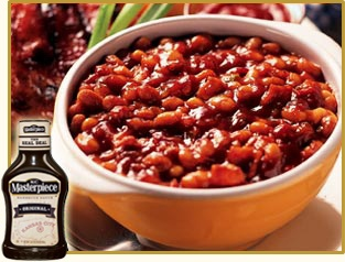 Baked Beans! Yummy Baked Beans!Easy Recipe, Kc Masterpiece, Side Dishes, Beans Recipe, Baking Beans, Masterpiece Baking, Baked Beans, Favorite Recipe, Mr. Beans