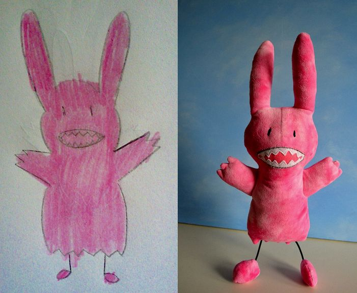 making monsters from childrens drawings - Google Search