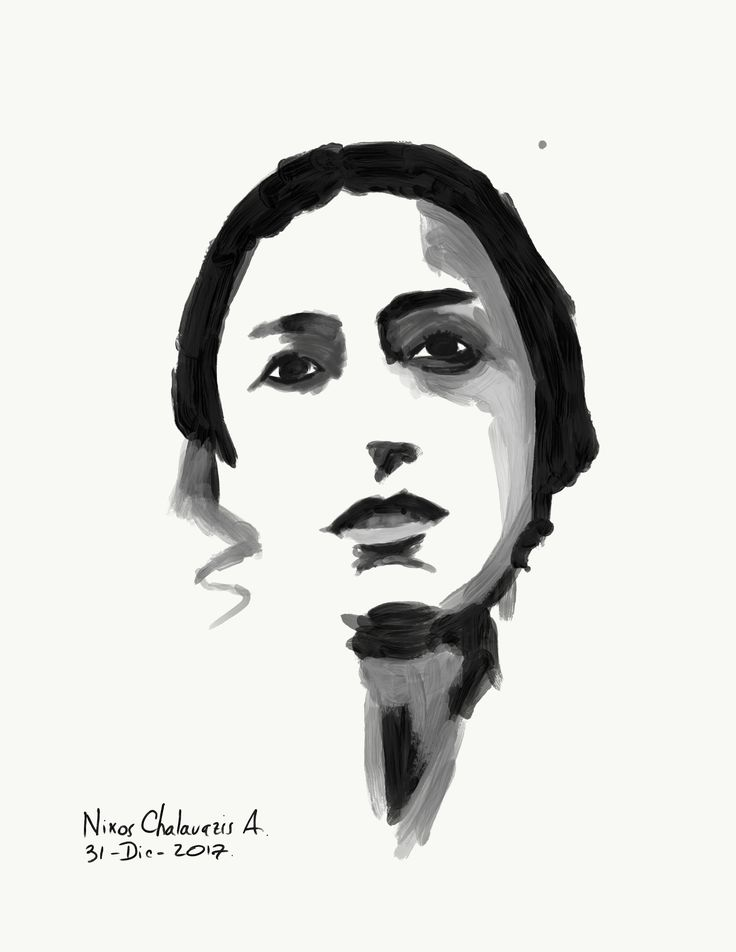 A respectful and humble minimalist portrait of the actress Louis Barnes in Black Sails.