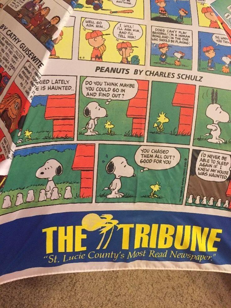 The Tribune St Lucie Newspaper Cartoon Comic Umbrella Peanuts Garfield B C | eBay