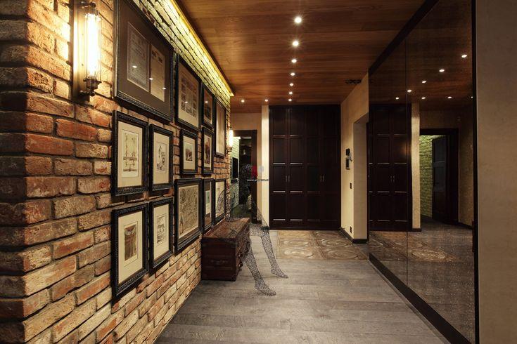 Квартира-лофт в стиле постиндастриал