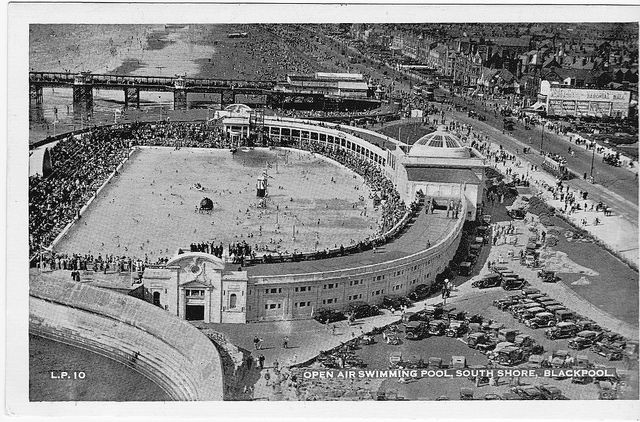 Blackpool South Shore Open Air Swimming Pool Lido Circa 1935 Image By Stuart Axe On Flickr
