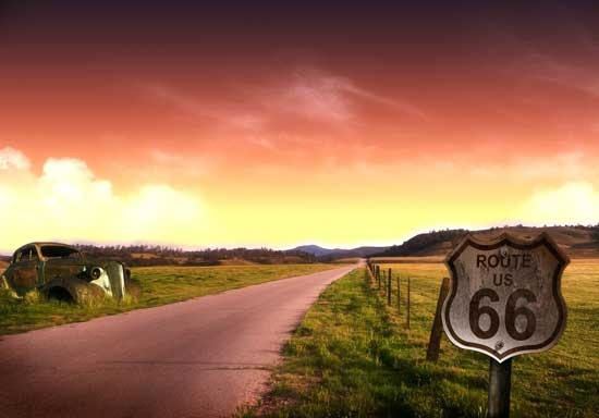 route 66. I really want to drive out west