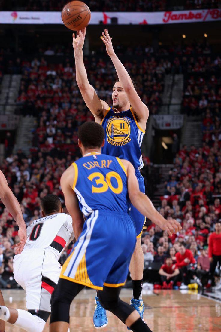 Warriors Complete Series Sweep of Trail Blazers Golden