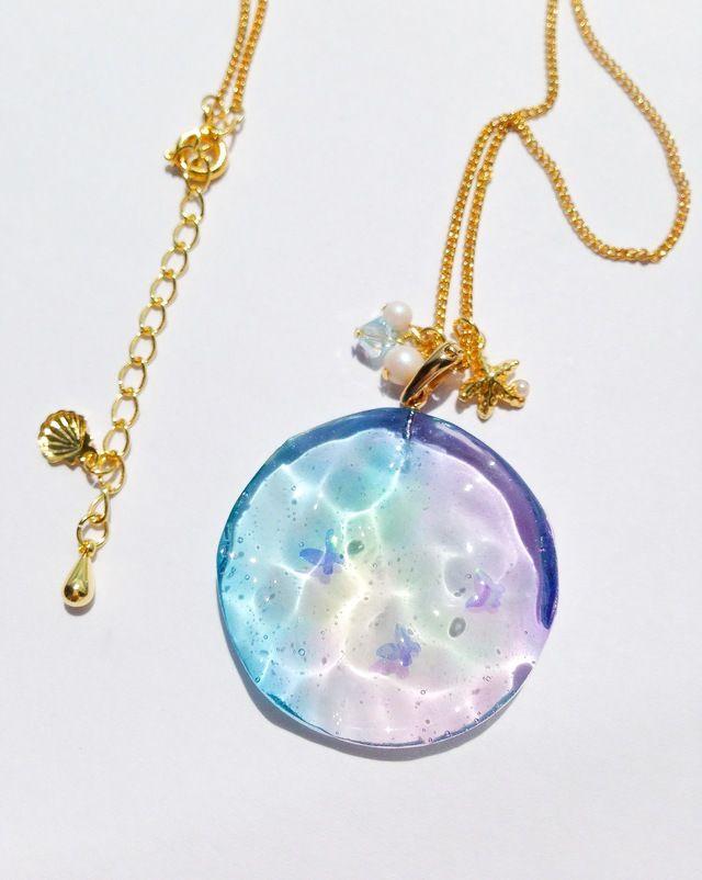 [★PSYCHE☆] 虹の海 ネックレス
