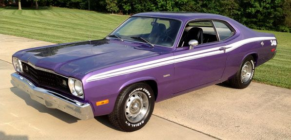1973 Plymouth Duster  340  4 barrel 4 speed