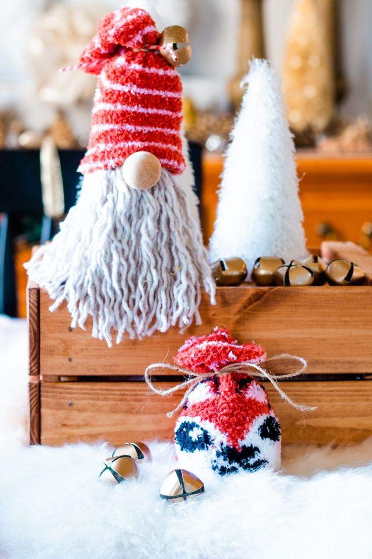 DIY Dollar Tree Gnome for Christmas in 2020 Christmas