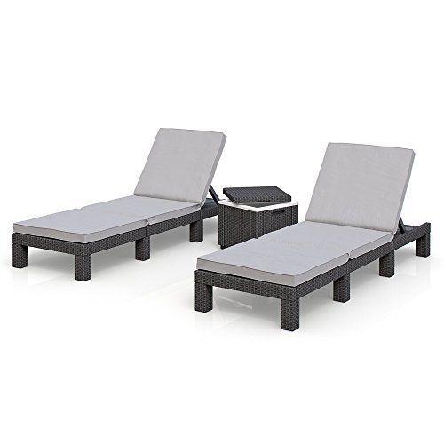 17 gartenliege polyrattan pinterest gartenliege rattan sonneninsel. Black Bedroom Furniture Sets. Home Design Ideas