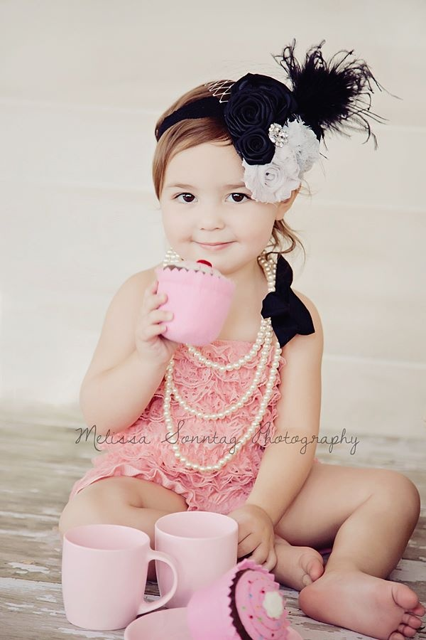 Emma 39 S 2 Year Old Picture With A Tea Party Set Up That I